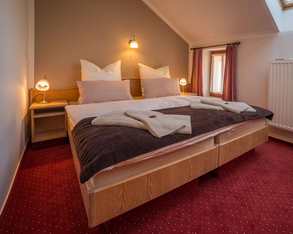 Doppelzimmer im Hotel